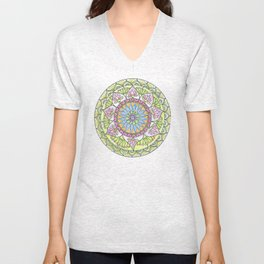 Lotus Growth Unisex V-Neck
