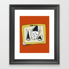 PSYCHO-Soma Framed Art Print