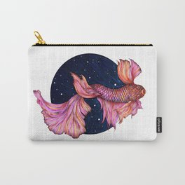 Rainbowed Waters - The Betta Fish Carry-All Pouch