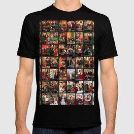 hallmark movies collage christmas  T-shirt