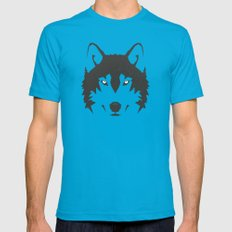 Wolf 2X-LARGE Mens Fitted Tee Teal