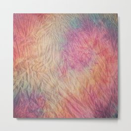 Marble dye Metal Print