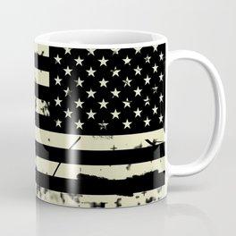 Distressed Tactical U.S. Flag Coffee Mug
