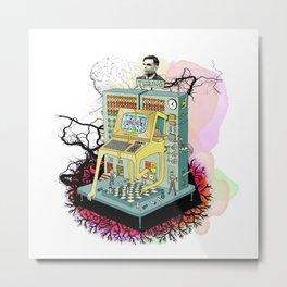Turing Metal Print