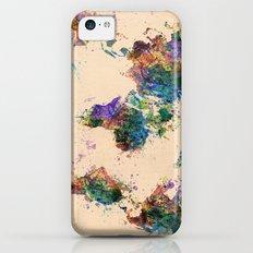 world map Slim Case iPhone 5c