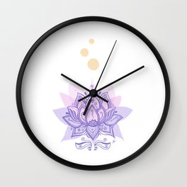 Loto Wall Clock