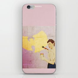 wu tangg iPhone Skin