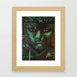 snake codec Framed Art Print