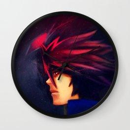 Shadow & Kane - The Black Flame Dragon Wall Clock