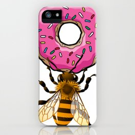 Donut Bee (AKA Don't Be) iPhone Case