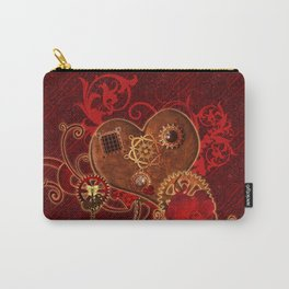 Steampunk, wonderful heart Carry-All Pouch