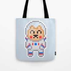 8Bit Astrobear Tote Bag