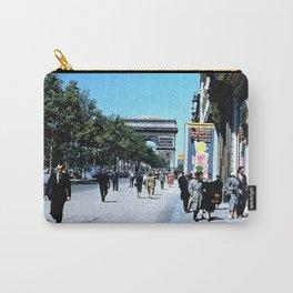 Days Long Past: Paris Carry-All Pouch