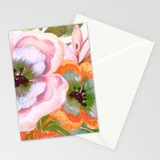 vintage big flower Stationery Cards