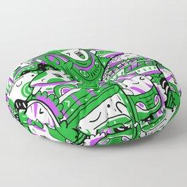 Manchester Pattern Floor Pillow