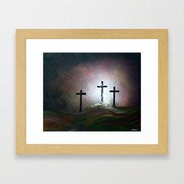 Still the Light Framed Art Print