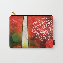 happy holdays Carry-All Pouch