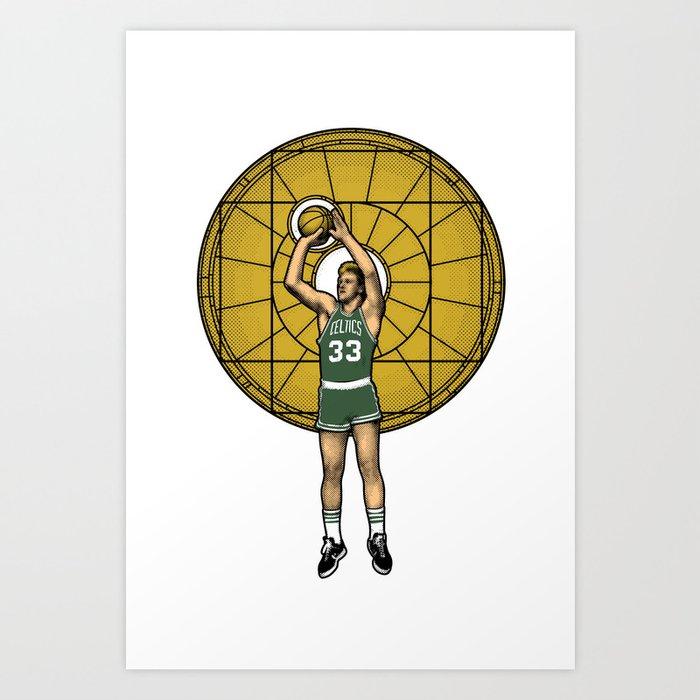 Basketball Jesus Art Print