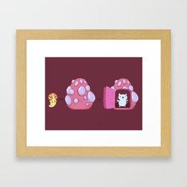 The Evolution of Catbug Framed Art Print