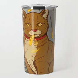 The Cat That Ate the Canary Travel Mug