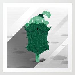 Mr. Natural Art Print