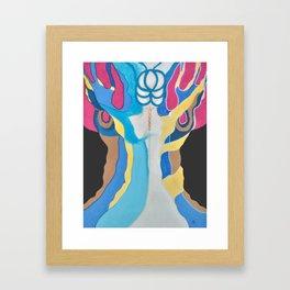 Woman´s tree / EL ARBOL DE LA MUJER Framed Art Print