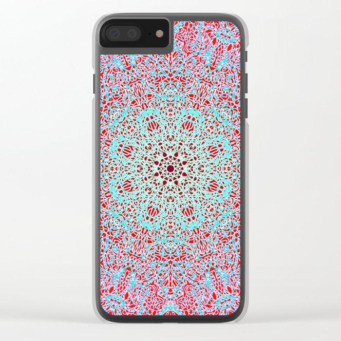 Mehndi Ethnic Style G402 Clear iPhone Case