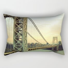 Gateway to NYC Rectangular Pillow
