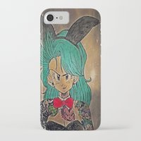 dragon ball iPhone & iPod Cases featuring First Lady Of Dragon Ball  by Artistic