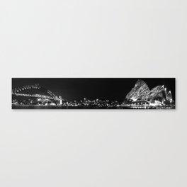 Sydney Illuminated Nightscape Canvas Print