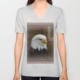 Eagle's sharp eye Unisex V-Neck