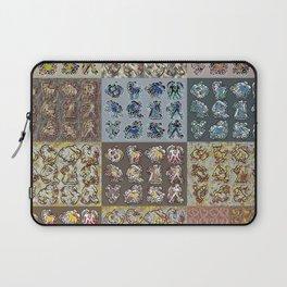Chasoffart-Zodiac-p Laptop Sleeve