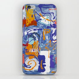 Shamanic Painting 01 iPhone Skin