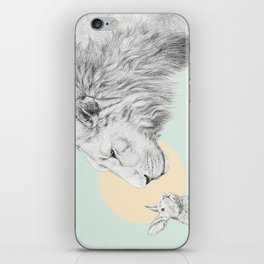 Lion and Bunny iPhone Skin