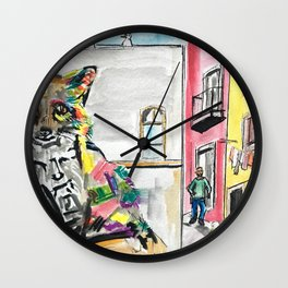 Piece of Portugal Wall Clock