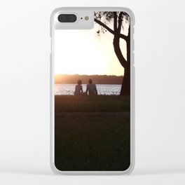 Young love Clear iPhone Case
