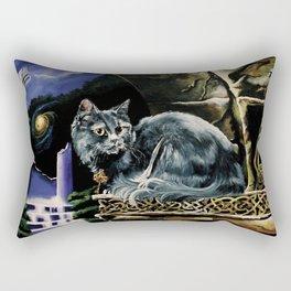 Celtic Cat Rectangular Pillow
