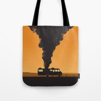 cooking Tote Bags featuring Cooking by Jonathan Hogan