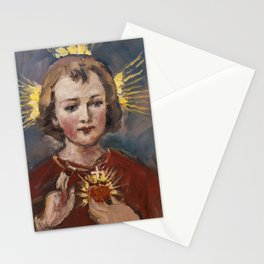 Little Jesus of my life Stationery Cards