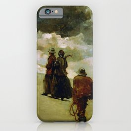 Winslow Homer1 - To The Rescue - Digital Remastered Edition iPhone Case