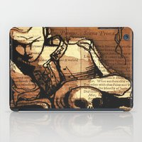 hamlet iPad Cases featuring Hamlet Prince of Denmark by Immortal Longings
