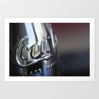 coke Art Prints featuring Coke by StanleyStudio
