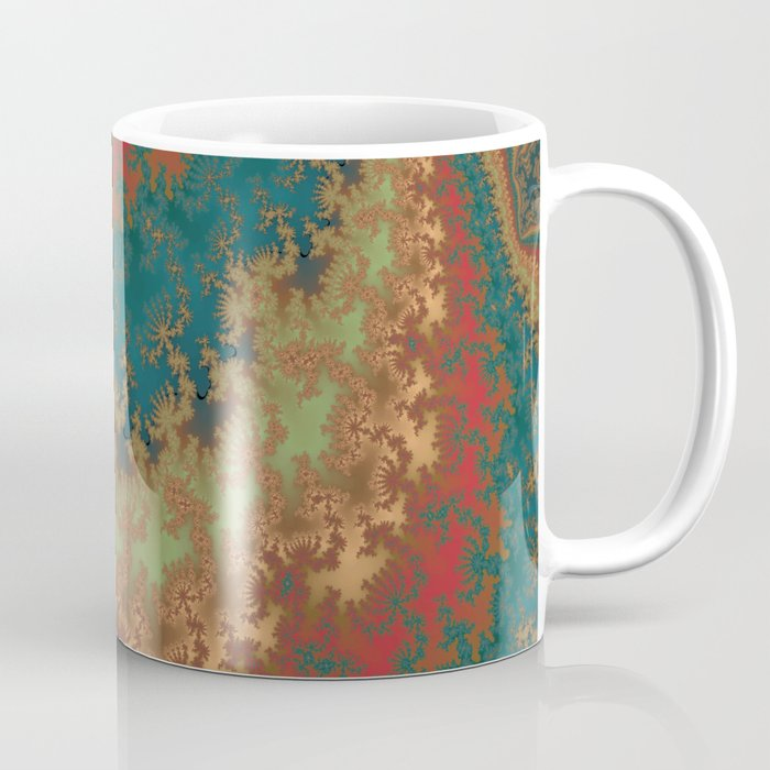 Fractal Layers Coffee Mug