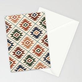 Aztec Symbol Pattern Col Mix Stationery Cards