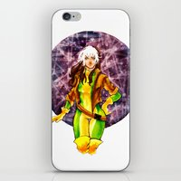 rogue iPhone & iPod Skins featuring Rogue by Doodleholic