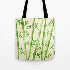 Bamboo Pattern Tote Bag