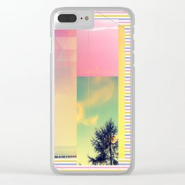 Summervibes Clear iPhone Case