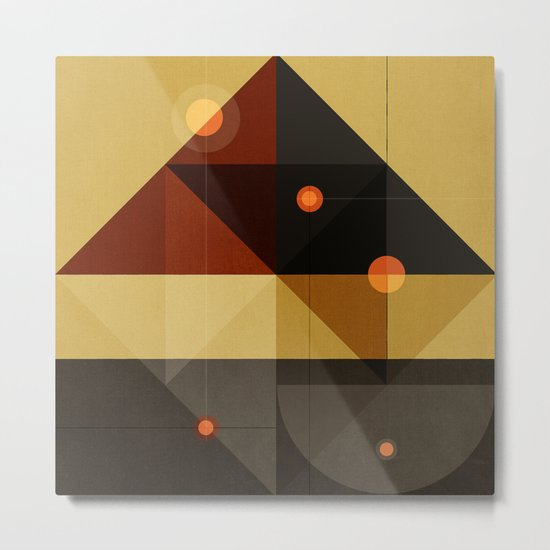 Geometric/Abstract 6 Metal Print