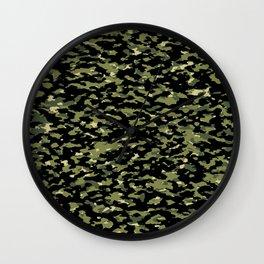 Camouflage: Jungle III Wall Clock