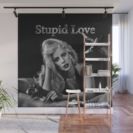 "lady new single ""Stupid Love"" Wall Mural"
